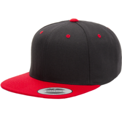 Кепка FlexFit Classic Snapback Black/Red