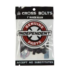 Винты для скейта Independent - Allen Hardware Black