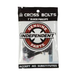 Винты для скейта Independent - Phillips Hardware Black
