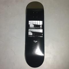 Дека Virage skateboards BKZ black